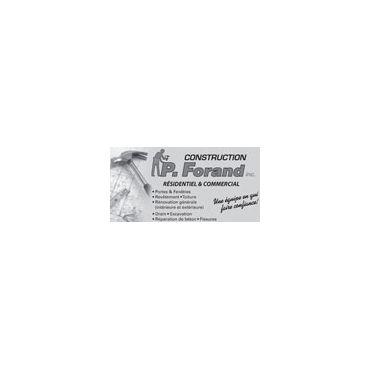 Construction P. Forand Inc logo