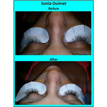 Regular set - one extension per eyelash.