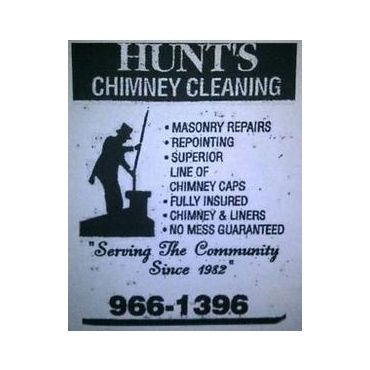 Hunt's Chimney Cleaning logo