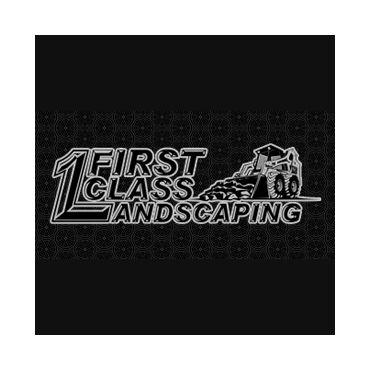 First Class Landscaping logo