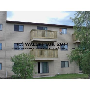 Painted Apartments & Deck Installation
