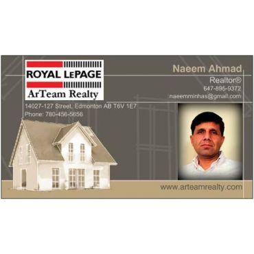 Naeem Ahmad - Royal Lepage Arteam Realty PROFILE.logo