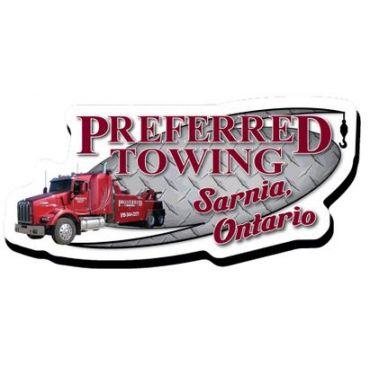 Preferred Towing logo