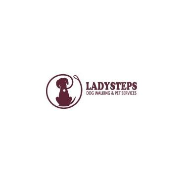 LadySteps Dog Walking and Pet Services logo