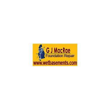 G J Macrae Foundation Repair logo