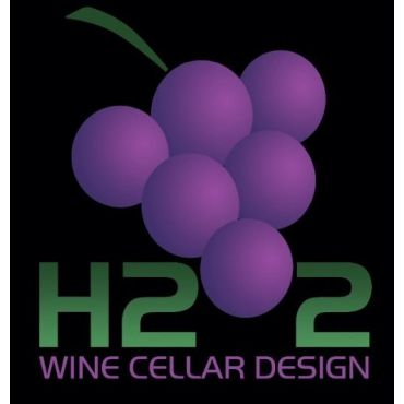 H2O2 Wine Cellar Design logo