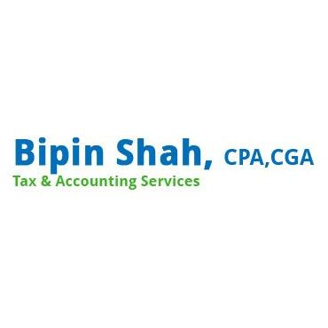 Bipin Shah, CPA, CGA, Tax & Accounting Services logo