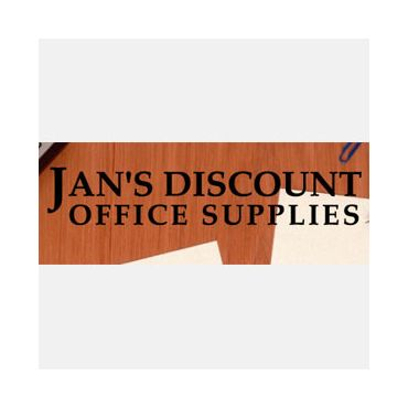 Jan's Discount Office Supplies logo