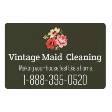Vintage Maid Cleaning PROFILE.logo
