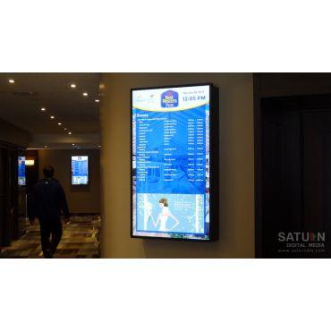 Digital Event Boards at Lamplighter