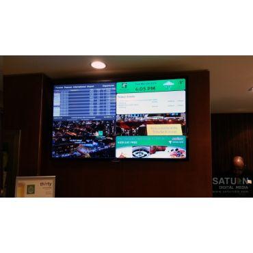 Digital Event Board at Holiday Inn