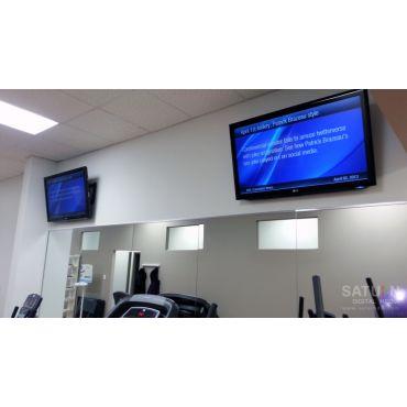 Digital Signage at Fitness Centre