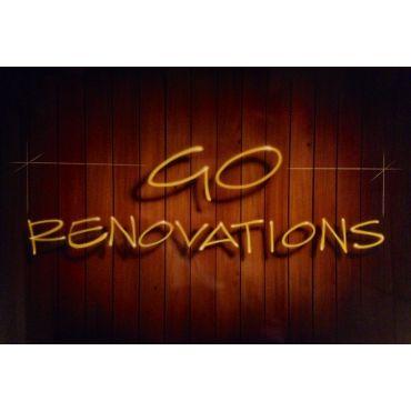 Go Renovations logo