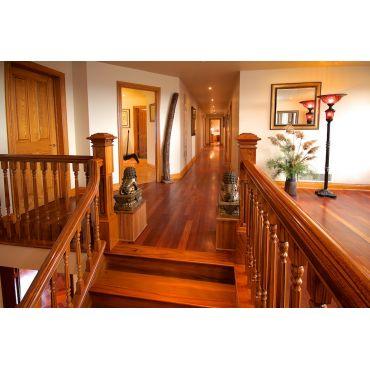 Hallway to 6 Bedrooms!