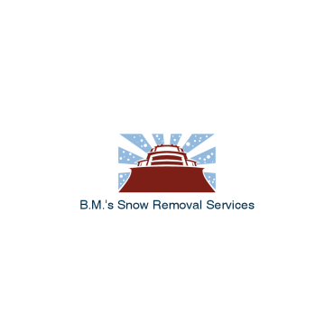 B.M.'s Snow Removal Services logo