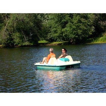 Paddleboat ride
