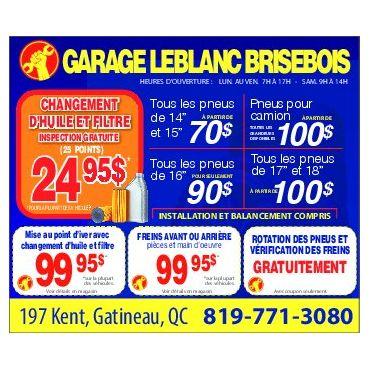 Garage Leblanc Brisebois Inc logo