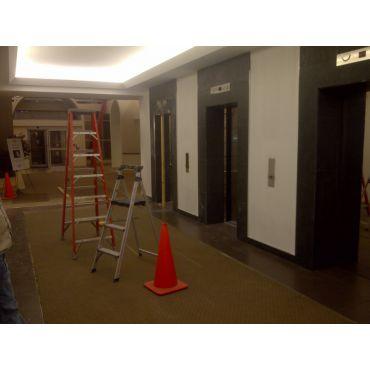 Lobby & Elevator Install