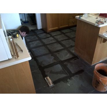 Kitchen Floor install