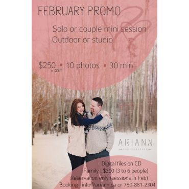 Promo for Feb only