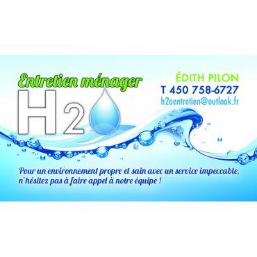 Service Entretien Ménager H20 logo