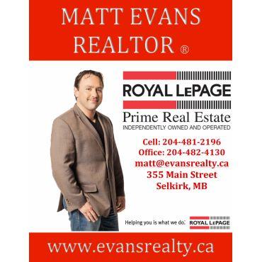Matt Evans - Royal LePage Prime logo