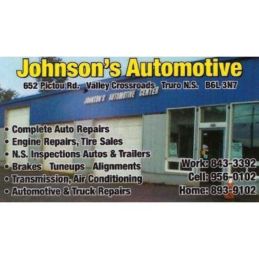 Johnson's Automotive Centre logo