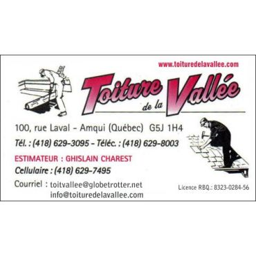 Toiture De La Vallee Inc logo
