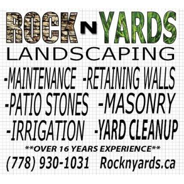 Rock N' Yards Landscaping PROFILE.logo