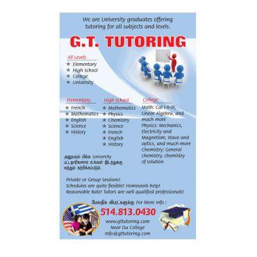 GT Tutoring logo