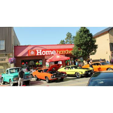Car show and yard sale!