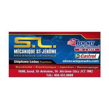 S L Mécanique St Jérôme logo