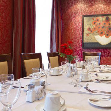 L'Avantage, salle à manger privée