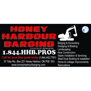 Honey Harbour Barging logo
