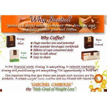 Why Javita & Why Coffee?