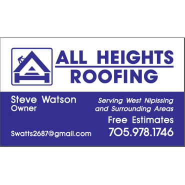 All Heights Roofing logo