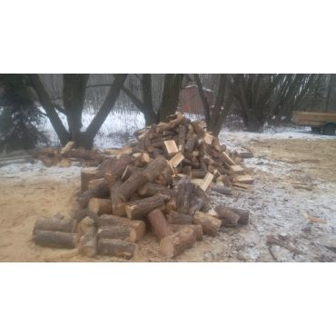 firewood in the winter and summer