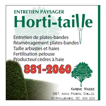 Entretien Paysager Horti-Taille logo