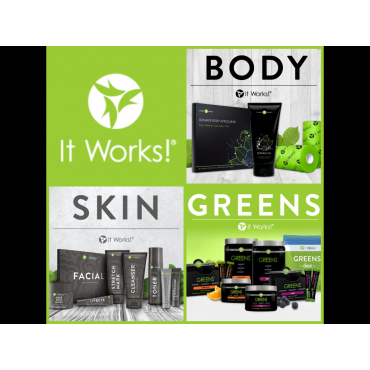 ItWorks with Stacey Mitchell logo