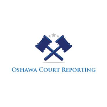Oshawa Court Reporting logo