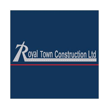 Royal Town Construction and Interlocking logo