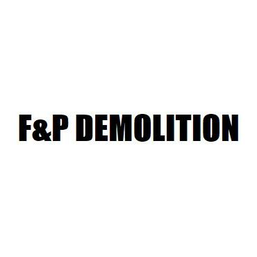 F & P Demolition logo