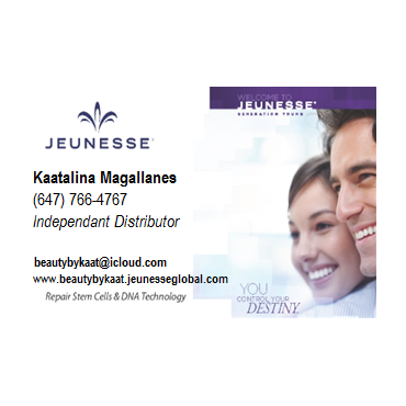 Jeunesse Independent Distributor Kaatalina Magallanes PROFILE.logo