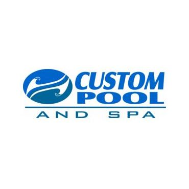 Custom Pool and Spa logo