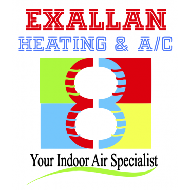Exallan Heating and A/C logo
