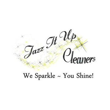 Jazz It Up Cleaners logo