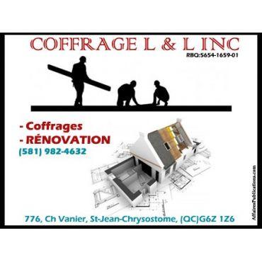 Coffrage L & L Inc. PROFILE.logo