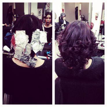 Foil Curls. Long lasting , Volume & Body