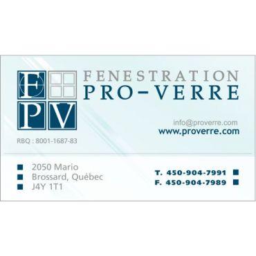 Fenestration Pro Verre Inc PROFILE.logo