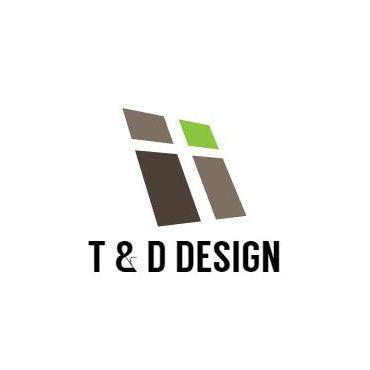 T & D Design logo